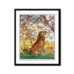 Spring & Golden (#12) Framed Panel Print