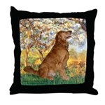 Spring & Golden (#12) Throw Pillow