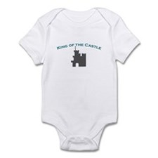 """""""king of the castle"""" infant body suit"""