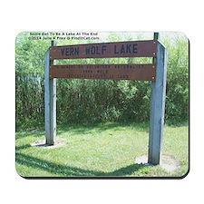 Vern Lake Memorial Mousepad
