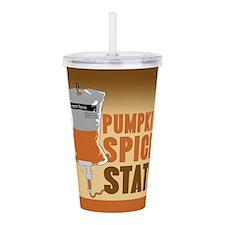 IV Pumpkin Spice Stat Acrylic Double-wall Tumbler