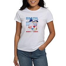 Brazil, Vintage Travel Poster T-Shirt