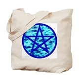Elemental Pentacle Tote Bag - Water