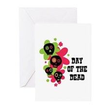 Day Of The Dead Greeting Cards