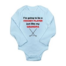 Hockey Player Like My Grandpa Body Suit