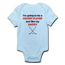 Hockey Player Like My Daddy Body Suit