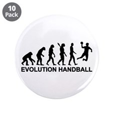 "Evolution Handball 3.5"" Button (10 pack)"