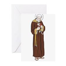 StFrancisAssisi Greeting Cards