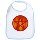 Elemental Pentacle Bib - Fire