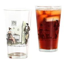 Unique Pride and prejudice Drinking Glass