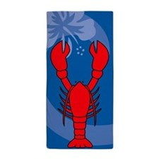 Lobster Beach Towel