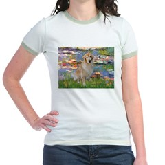 Lilies & Golden Jr. Ringer T-Shirt