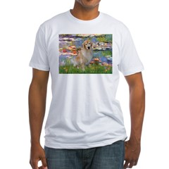 Lilies & Golden Fitted T-Shirt