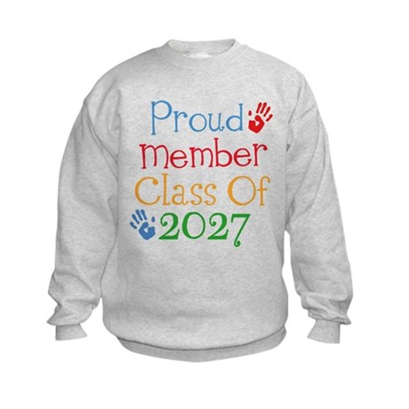 Proud Class Of 2027 Sweatshirt