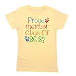 Proud Class Of 2027 Girl's Tee
