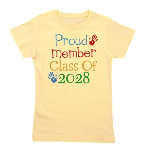 Class Of 2028 Pride Girl's Tee