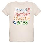 Class Of 2028 Pride Organic Kids T-Shirt