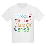 Class Of 2028 Pride Kids Light T-Shirt