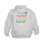 Class Of 2028 Pride Kids Hoodie