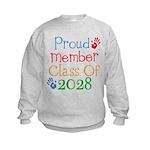 Class Of 2028 Pride Kids Sweatshirt
