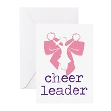 Cheer Leader Greeting Cards