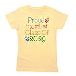 Class Of 2029 Pride Girl's Tee