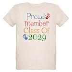 Class Of 2029 Pride Organic Kids T-Shirt