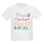 Class Of 2029 Pride Kids Light T-Shirt