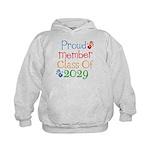 Class Of 2029 Pride Kids Hoodie
