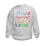 Class Of 2029 Pride Kids Sweatshirt