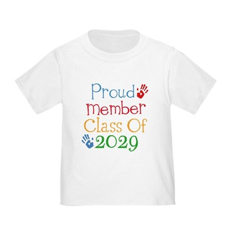 Class Of 2029 Pride Toddler T-Shirt
