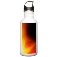 Cute Red yellow flames Water Bottle