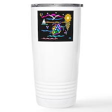 SeaTurtle (night) Thermos Mug