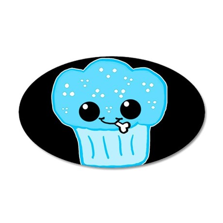 Killer Kawaii Kupcake Wall Decal