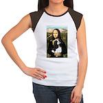 Mona's Tri Cavalier Women's Cap Sleeve T-Shirt