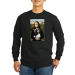 Mona's Tri Cavalier Long Sleeve Dark T-Shirt