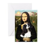 Mona's Tri Cavalier Greeting Cards (Pk of 10)