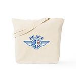 Patriotic Peace Design Tote Bag