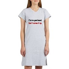 Cute Birthday Women's Nightshirt