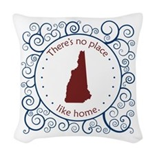 New Hampshire Woven Throw Pillow