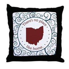 Ohio Throw Pillow