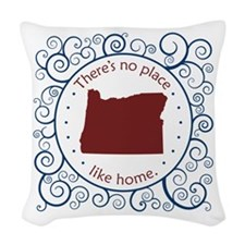 Oregon Woven Throw Pillow