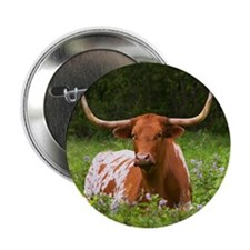 "Longhorn 2.25"" Button (10 pack)"