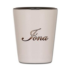 Gold Iona Shot Glass