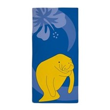 Manatee Beach Towel
