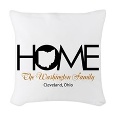 Ohio Home Woven Throw Pillow