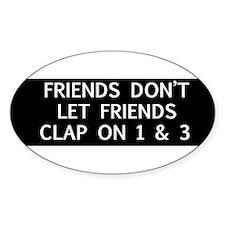 clap1 Bumper Stickers