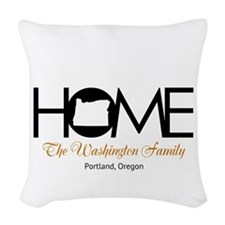 Oregon Home Woven Throw Pillow