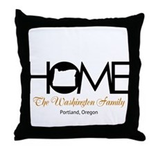 Oregon Home Throw Pillow