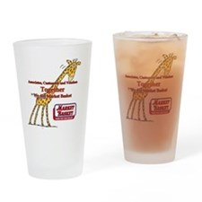 We Are Market Basket Drinking Glass